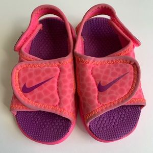 Nike 5c Sunray Adjust Sandals Pink